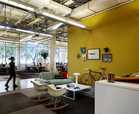 24 Coolest Designed Corporate Offices | Diseño de oficinas y espacios comerciales | Scoop.it