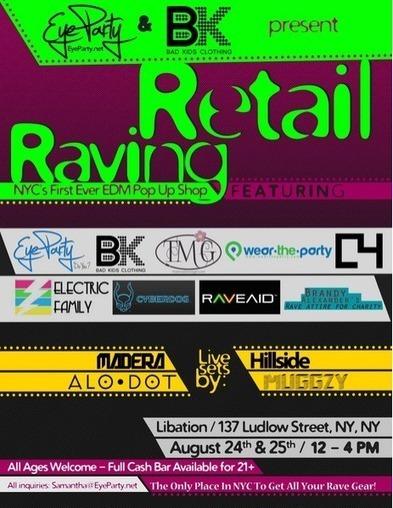 """Raving Retail"" NYC EDM Pop-Up Shop | Elektro | EDM | Scoop.it"