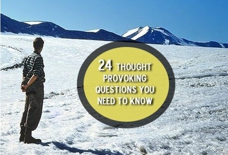 24 Thought Provoking Questions You Need To Answer To Know Yourself Better | Ray's Spiritual and Inspirational stuff | Scoop.it