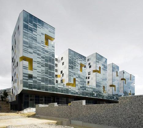 x-tu architects: nanterre apartment block, france | Arquitectura: Plurifamiliars | Scoop.it