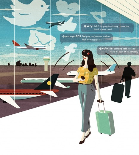Need to rebook a flight? Do it on Twitter. | Travel Solo | Scoop.it