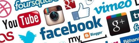 Infographie sur l'évolution des réseaux sociaux du télégraphe jusqu'à Snapchat | Cultures numériques | Scoop.it