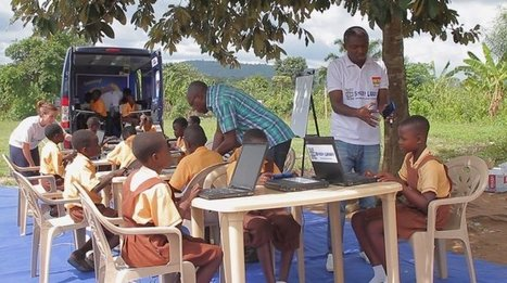 Tigo Ghana's E-Library on wheels makes waves in rural Ghana | SocialLibrary | Scoop.it