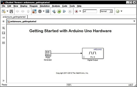 Overview   Set up and Blink - Simulink with Arduino   Adafruit Learning System   Open Source Hardware News   Scoop.it