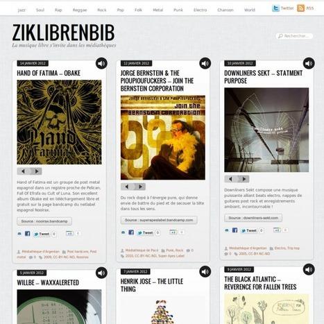 Ziklibrenbib : la musique libre s'invite dans les médiathèques ... | WEBOLUTION! | Scoop.it
