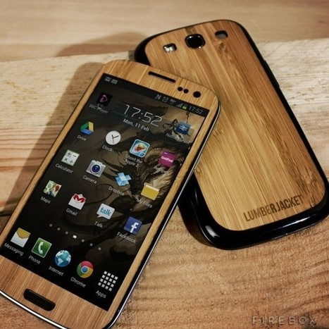 Samsung Galaxy S3 Wood Cover | Technology, Gadgets & Gizmos | Scoop.it