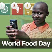 For World Food Day... | Educate a Girl. Change the World. | Scoop.it