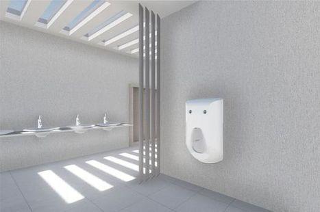 Urinary 2.0 : l'urinoir connecté qui nettoie votre pénis ! | Marketing Innovation | Scoop.it