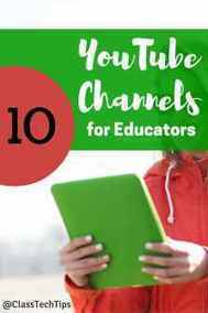 10 Favorite Educational YouTube Channels - Class Tech Tips | Teach and tech | Scoop.it