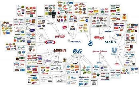 The 10 Corporations That Control Almost Everything You Buy | Zero ... | PR and Business | Scoop.it