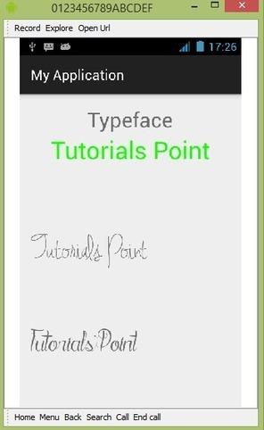 Android Custom Fonts Tutorial | xorosho | Scoop.it
