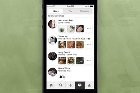Pinterest está probando una sección que te mostrará lo que hacen otros usuarios   Aprendiendo a Distancia   Scoop.it