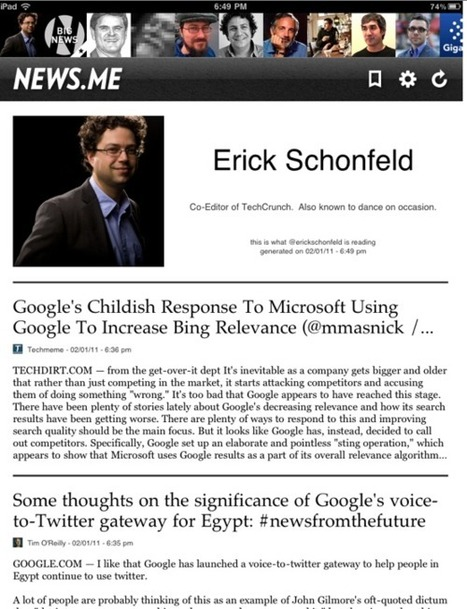 Erich Schonfeld on News.me | Stowe Boyd | Brand & Content Curation | Scoop.it