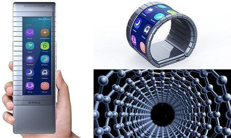 DAILY MAIL: Bendable phones with screens made from graphene are coming | University of Manchester in the news | Scoop.it