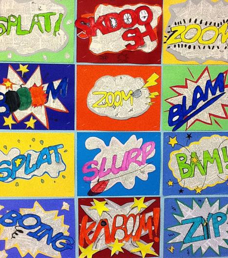 artisan des arts: Onomatopoeia art | Art | Scoop.it
