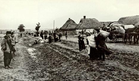 Le 25 septembre 1915: les Polonais sont chassés par l'invasion allemande. Récit de Joseph Kessel (17ans) - 24heuresch | Nos Racines | Scoop.it