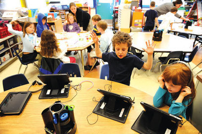 Schools across the US bring iPads to the classroom | Kuwait Times | Sue Atkins Parenting Made Easy | Scoop.it