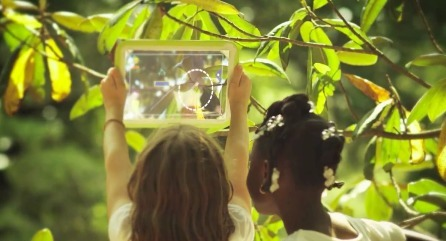 A see-through tablet for Augmented Reality Learning | networked media | Scoop.it