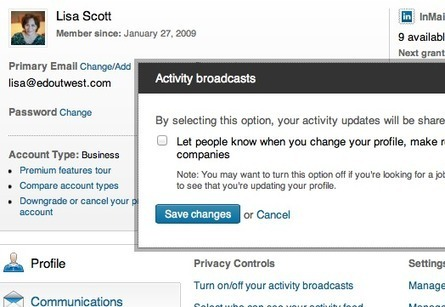 Tips For Success In A Minute or Less: Don't Spill The Beans When Updating Your LinkedIn Profile.   Innovative Marketing and Crowdfunding   Scoop.it