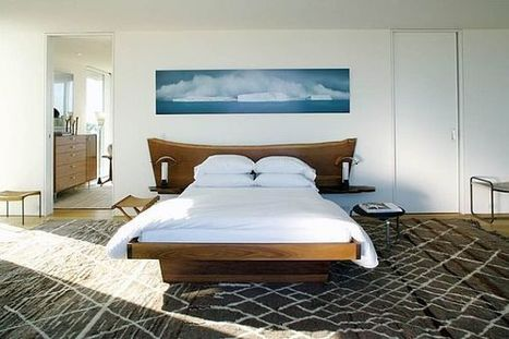 10 Rustic and Modern Wooden Bed Frames for a Stylish Bedroom | Designing Interiors | Scoop.it