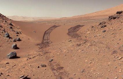 Mars : stupéfiant panorama à 360° autour de Curiosity | Mars et astronomie | Scoop.it