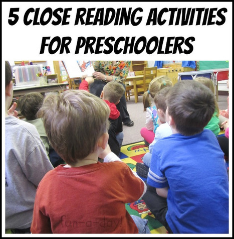 5 Close Reading Activities for Pre-Readers | Reading, Writing, Word study, and Content Literacy | Scoop.it