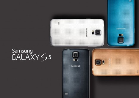 Samsung unveils Samsung Galaxy S5 at Mobile World Congress(MWC) 2014 Barcelona | AndroidVenture | Scoop.it