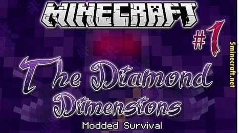 Diamond Dimensions Mod 1.6.4 | Minecraft 1.7.4/1.7.2 | ertdrg | Scoop.it