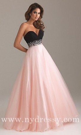 A Line pink strapless Night Moves 6452 long empire waist prom dresses [Night Moves 6452 by Allure] - $190.00 : Prom Dresses | Evening Dresses | Dresses From nydressy.com | Dresses for girls | Scoop.it