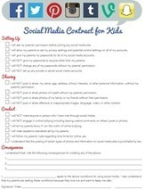 """iMom.com Offers New """"Social Media Contract for Kids"""" Printable 