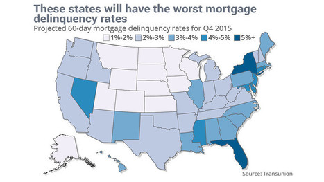 Residents in these states can't pay their mortgages | Real Estate | Scoop.it