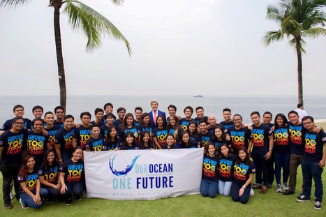 Kerry Tells Filipino Youth to Lead Ocean Conservation Efforts - The Daily Catch | Thinking Outside the Box | Scoop.it