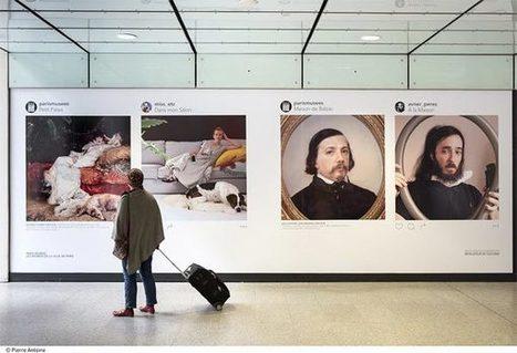 Paris Musées : 10 Instagrameurs s'approprient des œuvres célèbres | Clic France | Scoop.it