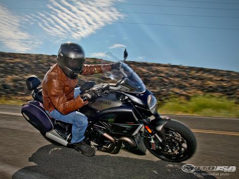 2013 Ducati Diavel Strada Comparison Review | Ductalk Ducati News | Scoop.it