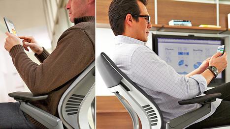 Steelcase Gesture: A Smartphone-Friendly Office Chair | Community | Scoop.it