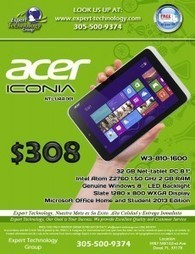 Acer Iconia Net Tablet PC Windows 8 | | Technology | Scoop.it