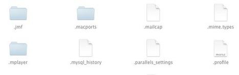 Astuce : afficher les fichiers cachés dans le Finder d'OS X | Mac & iPhone | Scoop.it