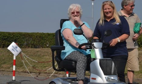 The popular TGA safe mobility scooter driving awareness day - Sept 2016 | Disability and Mobility | Scoop.it