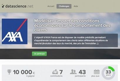 C'est pas mon idée !: Axa lance un défi aux « data scientists »   Orangeade   Scoop.it