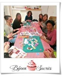 Photos de l'atelier du 14 février 2013 | Bijoux sucrés, Bijoux fantaisie, Bijoux gourmands, Pâte Fimo, Nail Art et Miniatures gourmandes | Bijoux Sucrés | Scoop.it