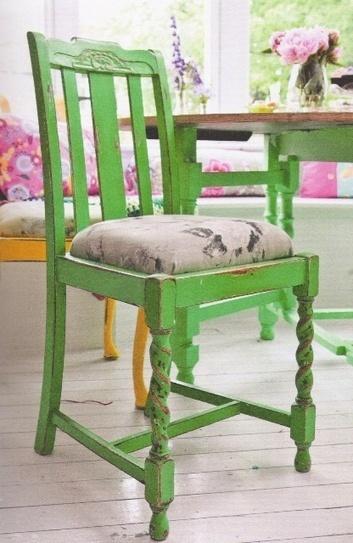Distressed Vintage Chair | Interior design | Scoop.it