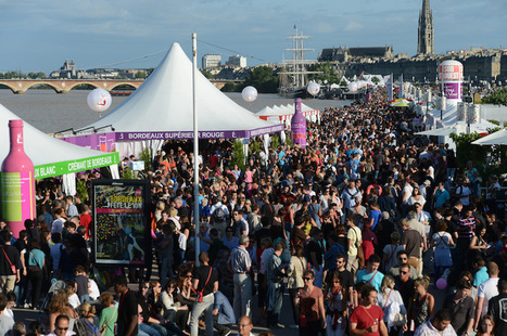 The largest European wine festival called Bordeaux Wine Festival | Bordeaux Fête le Vin & Oenotourisme | Scoop.it