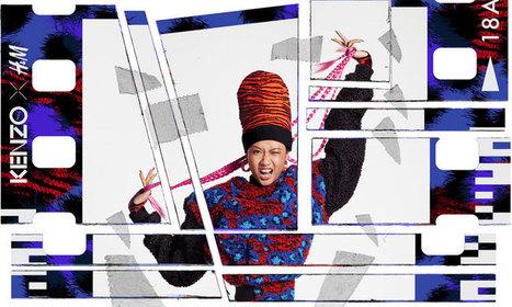 Kenzo-H&M pour en voir de toutes les couleurs, dès le 3 novembre. - Les hauts de la Mode   leshautsdelamode   Scoop.it