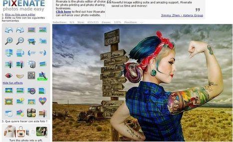 Pixenate: editor de imagenes online con diversos efectos | LabTIC - Tecnología y Educación | Scoop.it