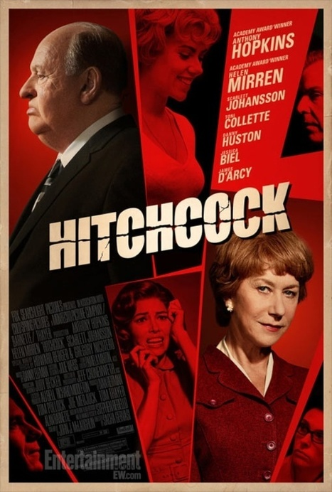 Old School Style 'Hitchcock' Poster Hits the Mark | ShezCrafti | Scoop.it