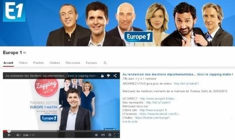 Comment Europe 1 gère sa présence sur les réseaux sociaux | Radio 2.0 (En & Fr) | Scoop.it