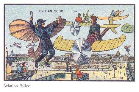 10 vignette del 1900 che immaginavano il futuro (conservate da Isaac Asimov) | trepuntozero R&D | Scoop.it