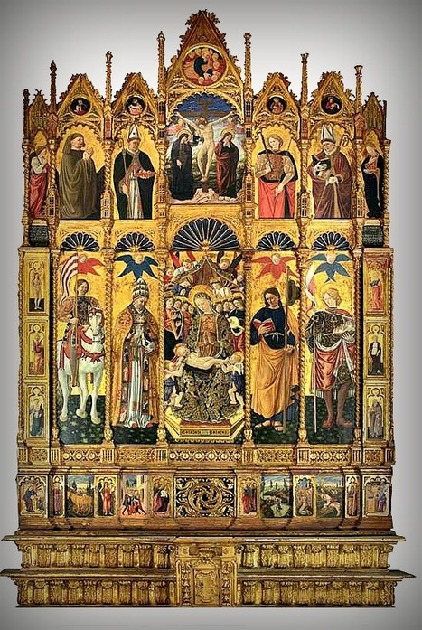Le Marche and its extraordinary art: The Polyptychs of Monti Azzurri | Le Marche another Italy | Scoop.it
