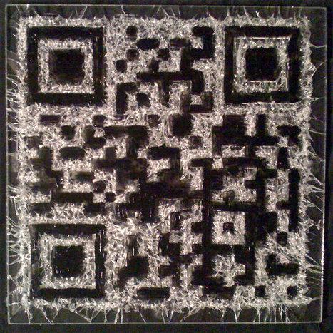 QR Code Shattered Art | De la bonne utilisation des QR-Codes | Scoop.it