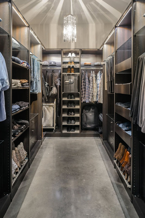 30 Walk-in Closet Ideas for Men Who Love Their Image | MY B*S* IS BOSS | Scoop.it